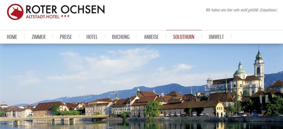 altstadthotel solothurn